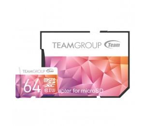 Team Colour Card Ii Micro Sdhc Uhs-1 U3 64g 90/45 R/w Tciiusxh64gu351