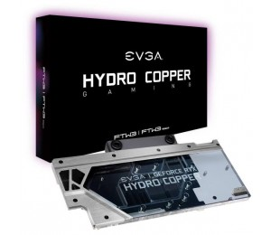 Evga Hydro Copper Waterblock For Evga Geforce Rtx 2080 Ftw3 400-Hc-1289-B1 Rgb 400-Hc-1289-B1