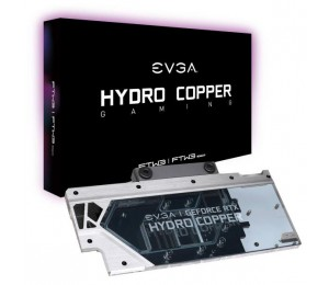 Evga Hydro Copper Waterblock For Evga Geforce Rtx 2080 Ti Ftw3 400-Hc-1489-B1 Rgb 400-Hc-1489-B1
