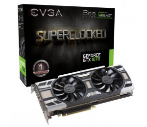 EVGA GeForce GTX 1070 SC GAMING 08G-P4-6173-KR 8GB GDDR5 ACX 3.0 & LED- Limited Promo Stock
