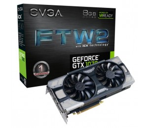 EVGA GeForce GTX 1070 FTW2 GAMING iCX 08G-P4-6676-KR