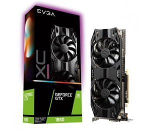 Evga Geforce Gtx1660 Xc Ultra Gaming Graphics Card 6Gb Gddr5 Pcie Full Height Hdb Fan Dp Hdmi Dvi-D