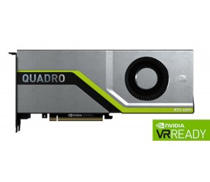 Leadtek Quadro Rtx6000 Work Station Graphic Card Pcie 24Gb Gddr6 4H (Dp) Virtuallink (1) 1X Fan