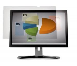 "3M AG22.0W Anti Glare Filter for 22.0"" Widescreen Desktop LCD Monitors (16:10) AG22.0W1B"