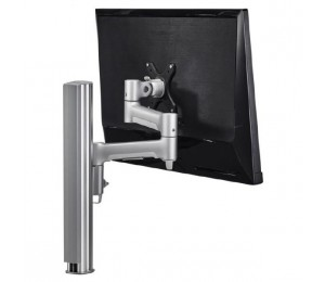 Atdec Awm Single Monitor Arm Solution - 460Mm Articulating Arm - 400Mm Post - Bolt - Black Awms-4640B-B