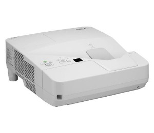 NEC UM351WG Ultra Short Throw WXGA Projector bundled with Wall Mount Q3C-AP-UM351WG-B