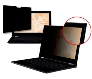 "3M PF15.6W Privacy Filter for Edge-to-Edge 15.6"" Widescreen Laptop (16:9) 98044061533"
