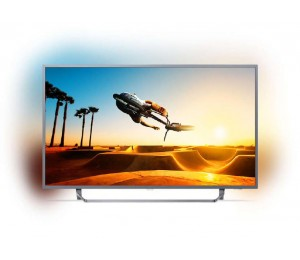 """Philips 7300 Series 126 Cm (50"""" ) 4K Ultra Slim Tv Powered By Android Tv With Ambilight 3-Sided"""