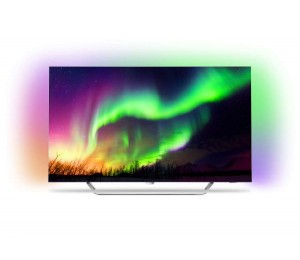 "Philips Oled 8 Series 139 Cm (55"" ) 4K Razor Slim Oled Smart Tv With Ambilight 3 Sided P5 Engine"
