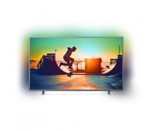 "Philips 6700 Series 164 Cm (65"" ) 4K Ultra Slim Tv With Ambilight 3-Sided Quad Core Dvb-T/ T2"