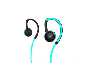 Altec Lansing Glow Run Bluetooth Earphones - (Wireless Bluetooth Led Illuminated Cord Ipx4 4 Hrs Battery) Mzx890L-Blk