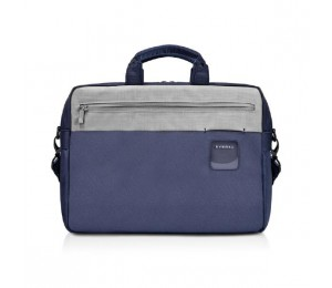"Everki ContemPRO Commuter Laptop Bag Navy Briefcase, up to 15.6"" with Dedicated Tablet/iPad/Pro/"