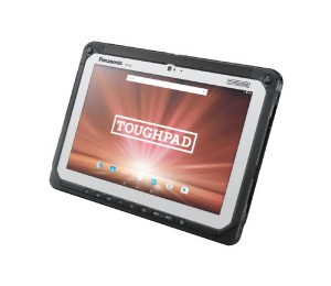 "Panasonic Toughpad Fz-A2 (10.1"" ) Mk1 With 4G 12 Point Satellite Gps & Barcode Reader - Android"