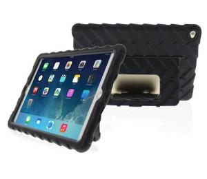 """Gumdrop Hideaway iPad 9.7 Case - Designed for: New iPad 9.7"""" 2017 (Models: A1822, A1823) GS-IPAD97-BLK_BLK"""