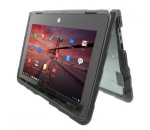 Gumdrop DropTech HP Chromebook x360 11 G1 EE Case - Designed for: HP Chromebook x360 11 G1 EE DT-HPCB11360-BLK