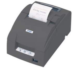 Epson TM-U220B with Built -in USB, Kitchen Receipt & Ticket, with Auto Cutter (Power Supply included