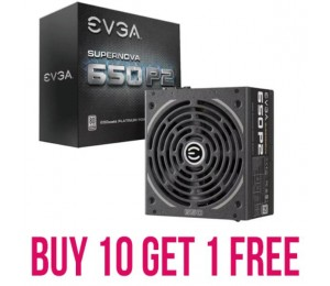 Evga Psu (Full-Modular) 650W - Buy Ten Get One Free 21E-Snp2650W-Promo