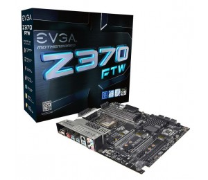 Evga Z370 Ftw, 134-ks-e377-kr, Lga 1151, Intel Z370, Hdmi, Sata 6gb/s, Usb 3.1, Usb 3.0, Atx,