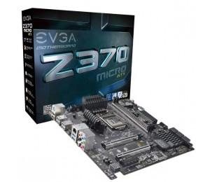 EVGA Z370 Micro ATX, 121-KS-E375-KR, LGA 1151, Intel Z370, SATA 6Gb/s, USB 3.0, mATX, Intel Motherboard