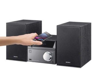 Sony CMTSBT40D Bluetooth CD/DVD/Tuner Micro Hi-Fi System with USB CMTSBT40D