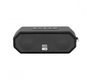 Altec Lansing Jacket H20 4 Black - Everything Proof Rugged & Waterproof Bluetooth Speaker (10 Hrs