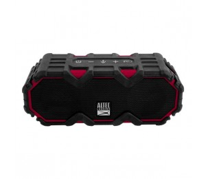 Altec Lansing Mini Lifejacket Jolt Black/ Red - Everything Proof Rugged & Waterproof Bluetooth