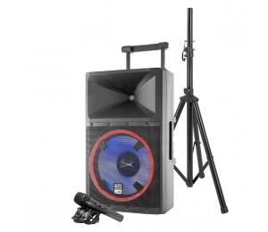 Altec Lansing Lightning High-Power Pa Speaker System (Bluetooth Usb Sd Speaker Stand Retractable