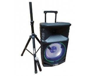 Altec Lansing Thunder 15 Portable Battery Powered Pa Speaker System ALP-T1500-PK