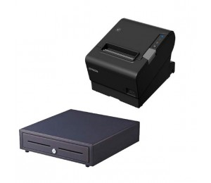 Epson Tm-T88Vi-241 Thermal Receipt Printer Built-In Ethernet Usb Serial With Psu Bundled With