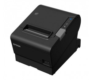 Epson Tm-t88vi-241 Thermal Receipt Printer Built-in Ethernet, Usb, Serial, With Psu, No Data Or