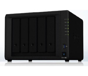 "Synology Diskstation Ds1019+ 5-Bay 3.5"" Diskless 2Xgbe Nas (Tower) Intel Atom Quad Core 1.4Ghz"