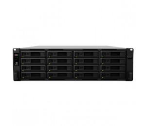 "Synology Rackstation Rs2818rp+ 16-bay 3.5"" Diskless 4x1gbe Rj45 (3u Rack) Intel Atom C3538 Quad-core"