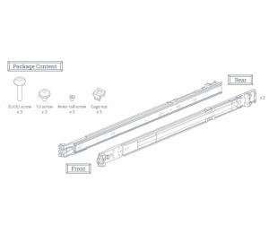 Synology Rail Kit RKS1317 (Sliding) for 1U, 2U and 3U NAS Systems RKS1317
