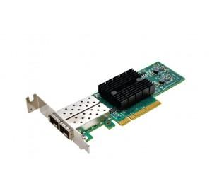 Synology E10G17-F2 is a dual-port 10 Gigabit SFP+ PCIe 3.0 x8 Ethernet adapter E10G17-F2
