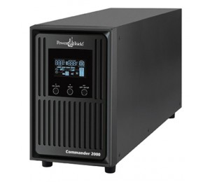 Powershield Commander 1100va/ 990w Line Interactive Pure Sine Wave Tower Ups With Avr. Telephone/