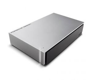 "LaCie EXTERNAL 3.5"" DRIVE: 8TB Porsche Design USB 3.0 Desktop Drive LIGHT GREY LAC9000604"