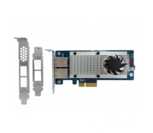 QNAP Dual-port 10 Gigabit Network Expansion Card for rackmount and tower models (10GBASE-T interface)