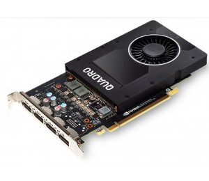 Leadtek Quadro P2000 Pci-ex16 5gb Ddr5 Dpx4 Quadro Sync Ii 75w Max 4 Active Displays Retail