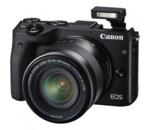 Canon M3tkisb Eos M3 Black With Efm18-55isstm & 55-200isstm (without Ef Adapter) 24.2mp Aps-c Cmos Sensor Dig!c 6 Processor Wifi/ Nfc Hd M3tkisb