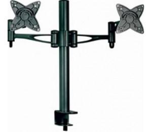 """Astrotek Monitor Stand Desk Mount 36cm Arm for Dual Screens 13""""-27"""" 15kg 30° tilt 180° swivel"""