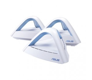 Asus Lyra Trio (2-Pack) Ac1750 Dual Band Mesh Wifi System Great Solution For Multi-Story Home Features