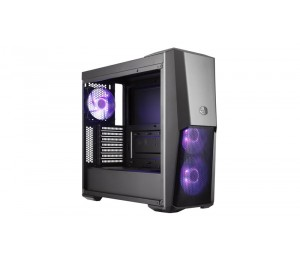 Cooler Master MasterBox MB500 RGB Mid Tower, TG panel, 3 RGB fans, Splitter cable included, ATX, mATX
