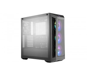 Coolermaster Masterbox Mb530P Atx Tempered Glass Panels 3X120Mm Rgb Fans Mcb-B530P-Khnn-S01