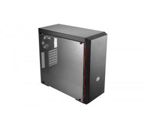 COOLER MASTER MASTERBOX MB600L ATX FULL SIZE TRANSPARENT PANEL GUNMETAL COLOR SIDE TRIM NOT