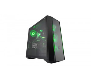 Cooler Master MasterBox Pro 5 RGB Mid Tower, TG panel, 3 RGB fans with splitter cable: E-ATX, ATX,