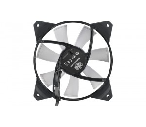 Cooler Master MasterFan Pro 120mm Air Flow RGB Fan, Certified compatible with ASUS, Gigabyte MSI
