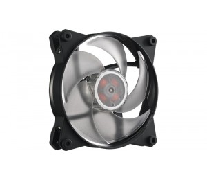 Cooler Master MasterFan Pro 120 Air Pressure RGB, Heli-Inspired Fan Blade, Silent, Jam protection,