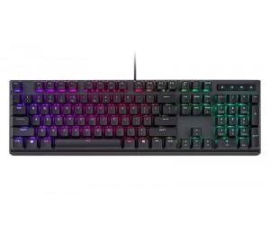 Cooler Master Masterkeys MK750 RGB Mechanical Keyboard(BLUE switch), Removable Magnetic Wristrest