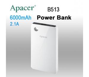 APACER B513 6000mAh Power Bank MOBAPAB513