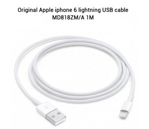 Original Apple iphone 6 lightning USB cable MD818ZM/ A 1M (retail package) $29.99 MOBAPPUSBCABLE